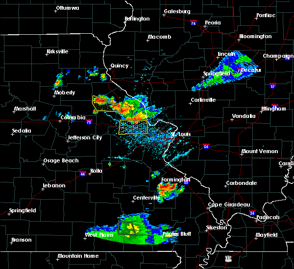 Radar Image for Severe Thunderstorms near Troy, MO at 6/3/2020 6:22 PM CDT