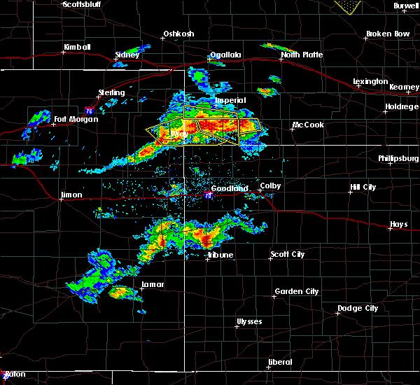 Radar Image for Severe Thunderstorms near Benkelman, NE at 6/3/2020 5:25 PM MDT