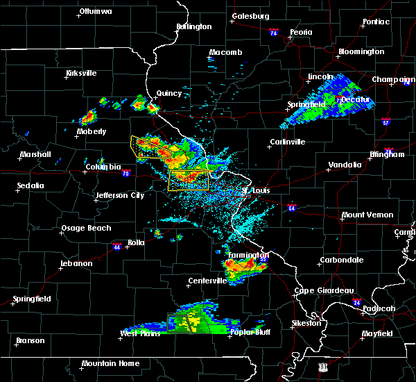 Radar Image for Severe Thunderstorms near Farber, MO at 6/3/2020 6:32 PM CDT