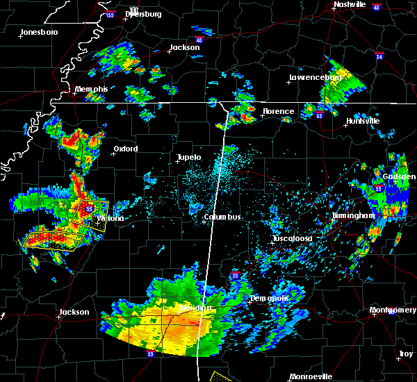 Radar Image for Severe Thunderstorms near Carrollton, MS at 6/3/2020 6:35 PM CDT