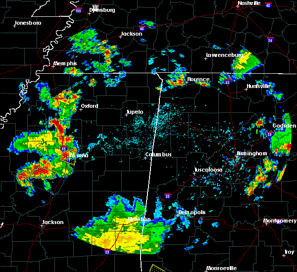 Radar Image for Severe Thunderstorms near Winona, MS at 6/3/2020 6:52 PM CDT