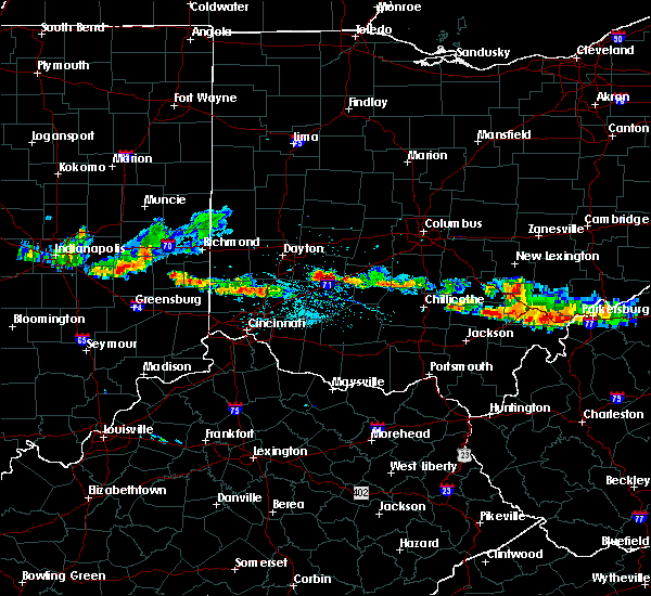 Radar Image for Severe Thunderstorms near Shawnee Hills, OH at 6/3/2020 7:54 PM EDT