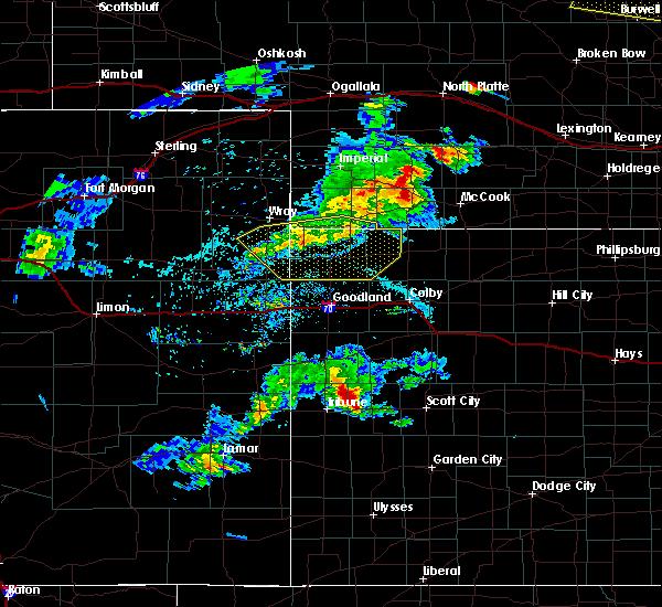 Radar Image for Severe Thunderstorms near Bird City, KS at 6/3/2020 6:57 PM CDT