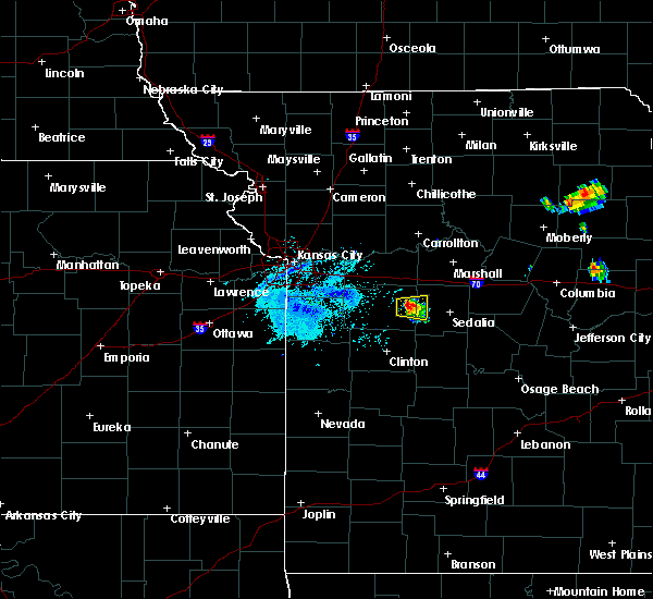 Radar Image for Severe Thunderstorms near Knob Noster, MO at 6/3/2020 6:57 PM CDT