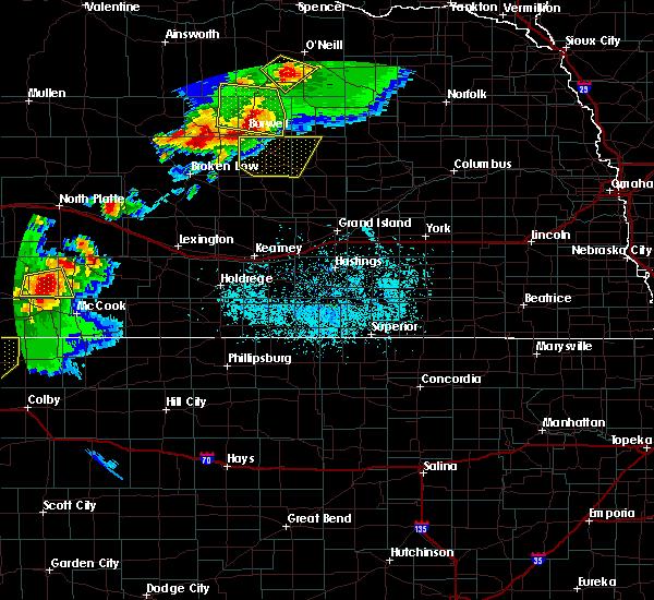 Radar Image for Severe Thunderstorms near Ord, NE at 6/3/2020 7:09 PM CDT