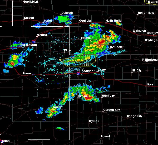 Radar Image for Severe Thunderstorms near Hayes Center, NE at 6/3/2020 7:10 PM CDT