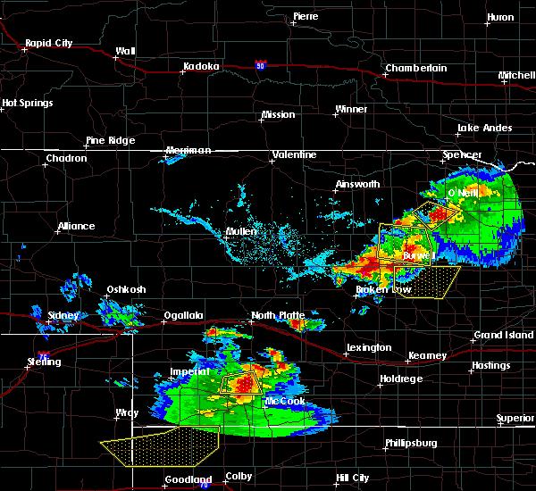 Radar Image for Severe Thunderstorms near Bartlett, NE at 6/3/2020 7:15 PM CDT