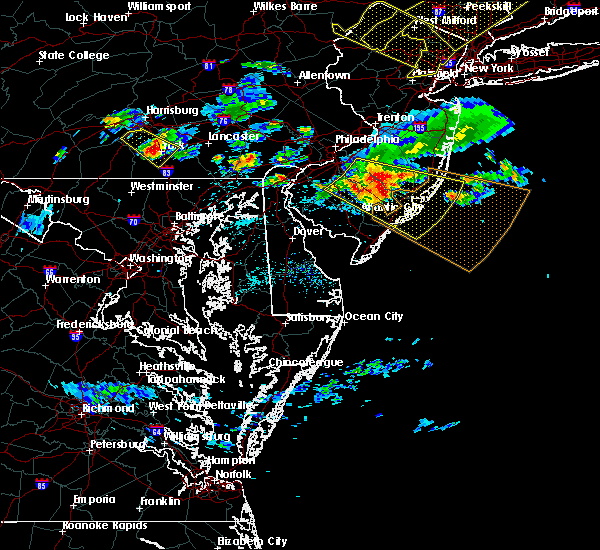 Radar Image for Severe Thunderstorms near Little Britain, PA at 6/3/2020 8:18 PM EDT