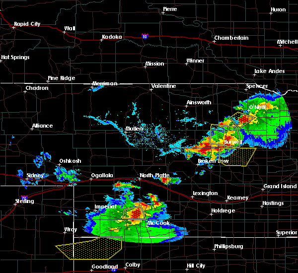 Radar Image for Severe Thunderstorms near Sargent, NE at 6/3/2020 7:19 PM CDT