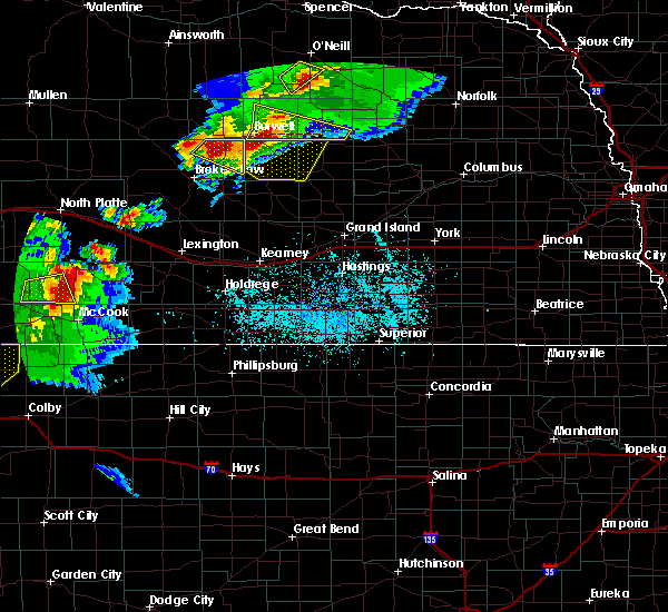 Radar Image for Severe Thunderstorms near Maywood, NE at 6/3/2020 7:24 PM CDT