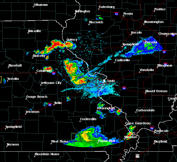 Radar Image for Severe Thunderstorms near Monroe City, MO at 6/3/2020 7:26 PM CDT