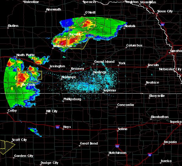 Radar Image for Severe Thunderstorms near Ord, NE at 6/3/2020 7:36 PM CDT