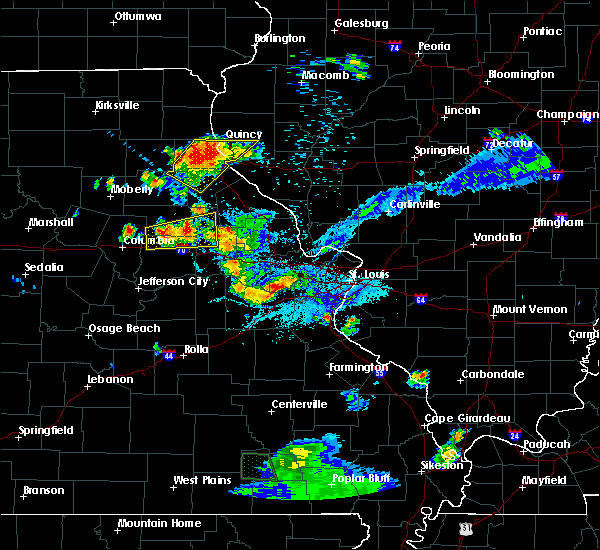 Radar Image for Severe Thunderstorms near Monroe City, MO at 6/3/2020 7:39 PM CDT