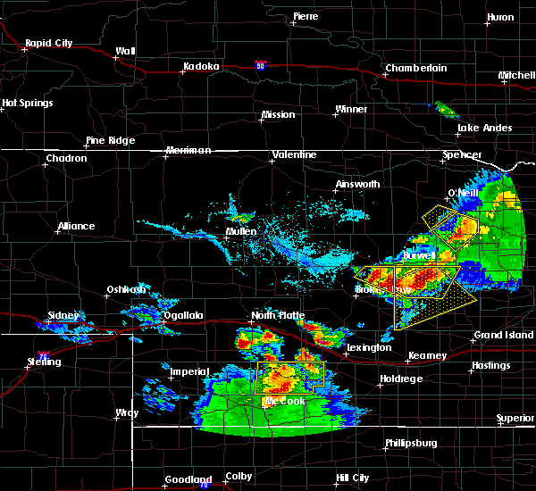 Radar Image for Severe Thunderstorms near Ewing, NE at 6/3/2020 7:47 PM CDT