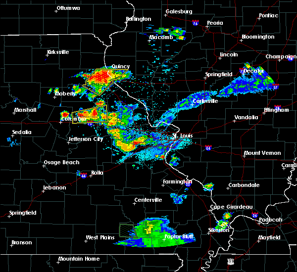 Radar Image for Severe Thunderstorms near Martinsburg, MO at 6/3/2020 7:49 PM CDT
