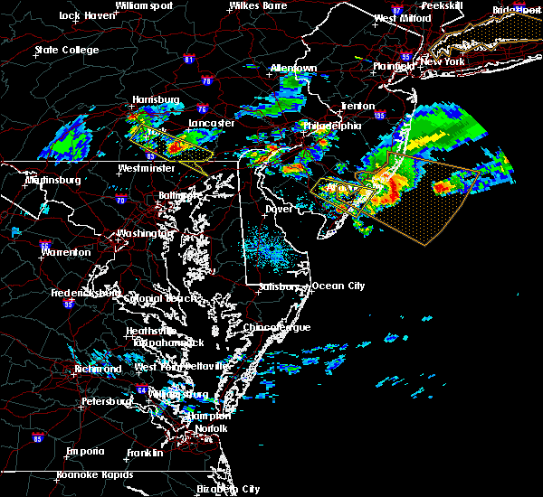 Radar Image for Severe Thunderstorms near Rising Sun, MD at 6/3/2020 8:55 PM EDT