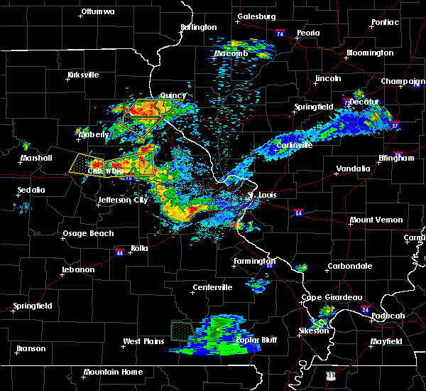 Radar Image for Severe Thunderstorms near Monroe City, MO at 6/3/2020 7:59 PM CDT