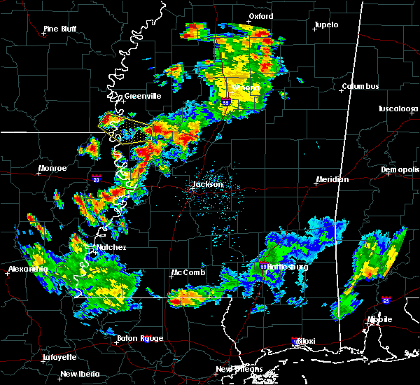 Radar Image for Severe Thunderstorms near Eudora, AR at 6/3/2020 8:04 PM CDT