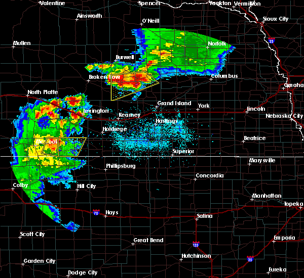 Radar Image for Severe Thunderstorms near Central City, NE at 6/3/2020 8:13 PM CDT