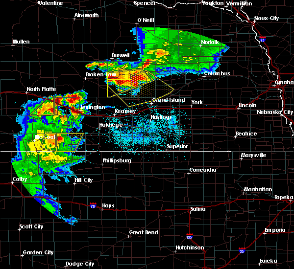 Radar Image for Severe Thunderstorms near Willow Island, NE at 6/3/2020 8:29 PM CDT