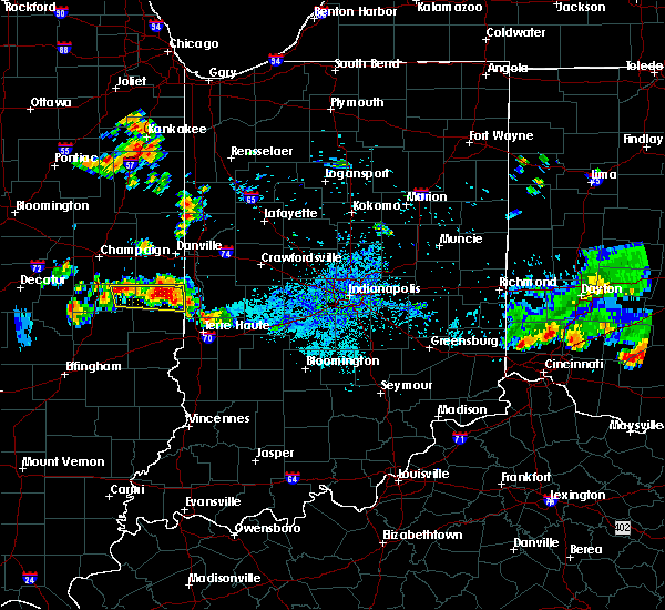 Radar Image for Severe Thunderstorms near Bloomingdale, IN at 6/3/2020 9:37 PM EDT