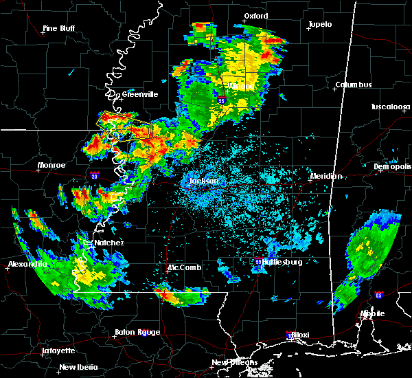 Radar Image for Severe Thunderstorms near Eudora, AR at 6/3/2020 8:43 PM CDT