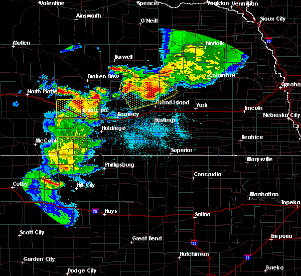Radar Image for Severe Thunderstorms near Miller, NE at 6/3/2020 8:47 PM CDT