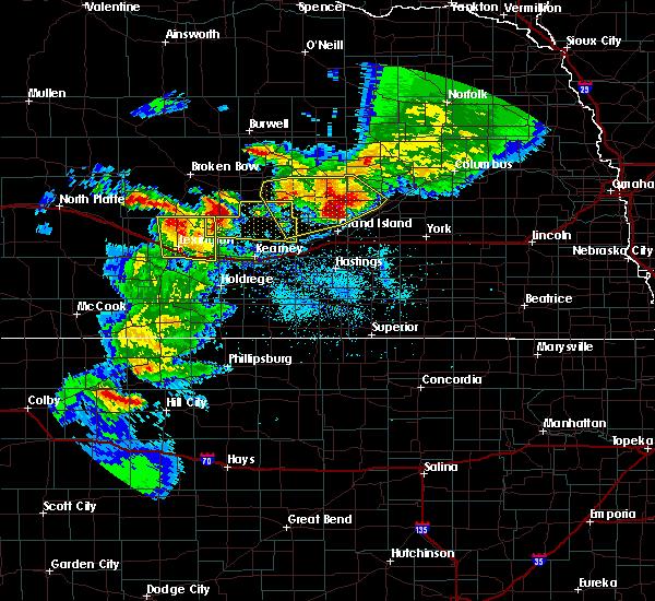 Radar Image for Severe Thunderstorms near Sumner, NE at 6/3/2020 8:48 PM CDT