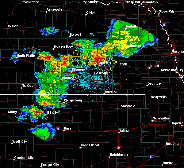 Radar Image for Severe Thunderstorms near Miller, NE at 6/3/2020 9:02 PM CDT