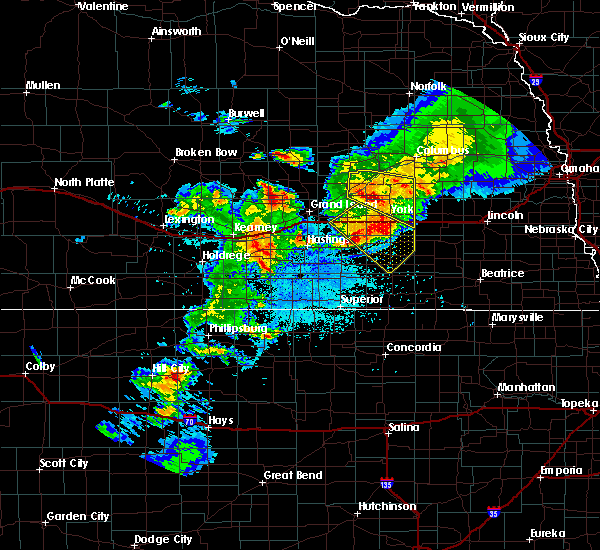 Radar Image for Severe Thunderstorms near Clarks, NE at 6/3/2020 9:52 PM CDT