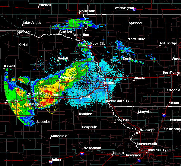 Radar Image for Severe Thunderstorms near Denton, NE at 6/3/2020 9:58 PM CDT