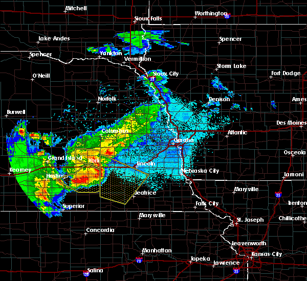 Radar Image for Severe Thunderstorms near Denton, NE at 6/3/2020 10:16 PM CDT