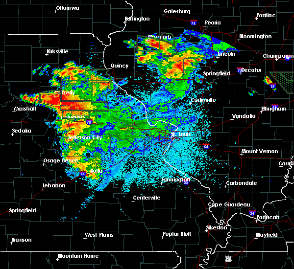 Radar Image for Severe Thunderstorms near Renick, MO at 6/3/2020 10:26 PM CDT