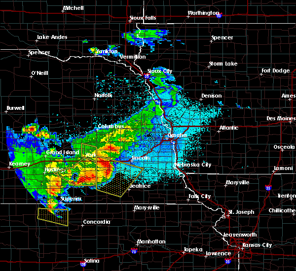 Radar Image for Severe Thunderstorms near Denton, NE at 6/3/2020 10:33 PM CDT