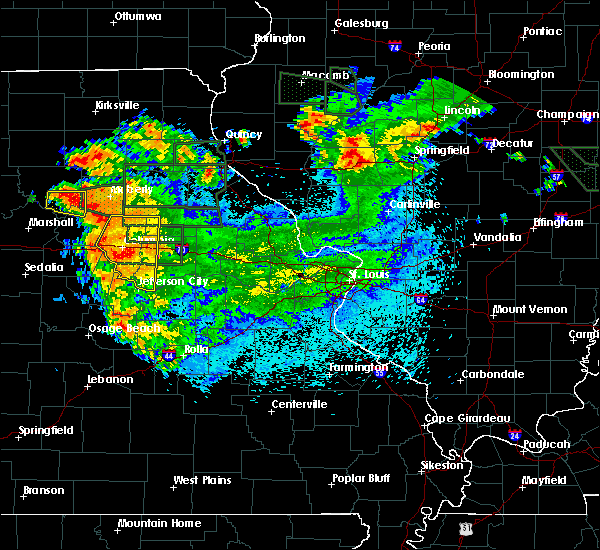 Radar Image for Severe Thunderstorms near Harrisburg, MO at 6/3/2020 10:55 PM CDT