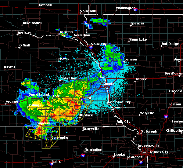 Radar Image for Severe Thunderstorms near Woodland Hills, NE at 6/3/2020 10:56 PM CDT
