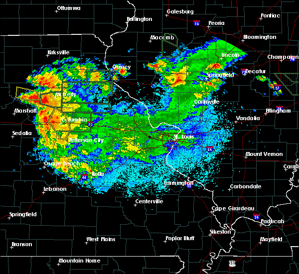 Radar Image for Severe Thunderstorms near Harrisburg, MO at 6/3/2020 11:08 PM CDT