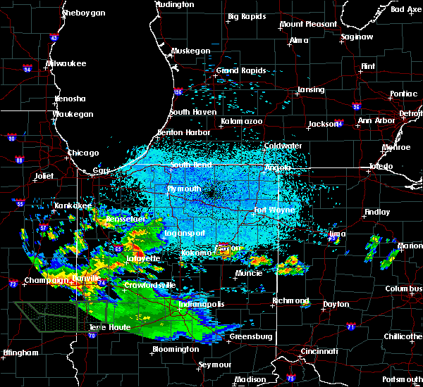 Radar Image for Severe Thunderstorms near Landess, IN at 6/4/2020 12:09 AM EDT
