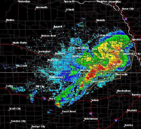 Radar Image for Severe Thunderstorms near Gilead, NE at 6/3/2020 11:40 PM CDT