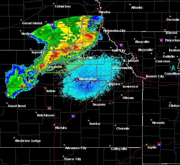 Radar Image for Severe Thunderstorms near Oketo, KS at 6/3/2020 11:51 PM CDT