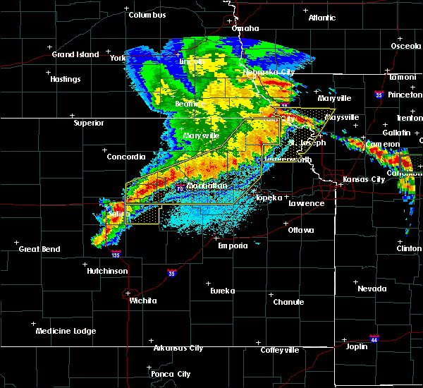 Radar Image for Severe Thunderstorms near Severance, KS at 6/4/2020 1:09 AM CDT