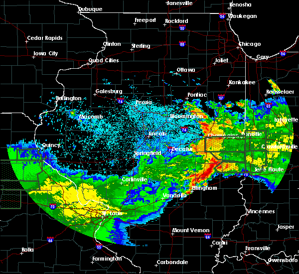 Radar Image for Severe Thunderstorms near Westfield, IL at 6/4/2020 1:10 AM CDT
