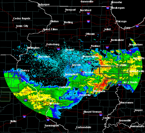 Radar Image for Severe Thunderstorms near Charleston, IL at 6/4/2020 1:18 AM CDT