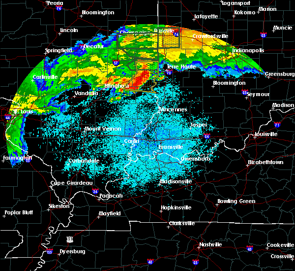 Radar Image for Severe Thunderstorms near Paris, IL at 6/4/2020 1:52 AM CDT