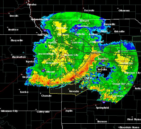 Radar Image for Severe Thunderstorms near Rockville, MO at 6/4/2020 3:31 AM CDT
