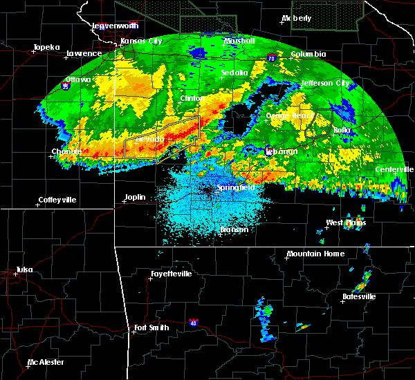 Radar Image for Severe Thunderstorms near Weaubleau, MO at 6/4/2020 4:16 AM CDT