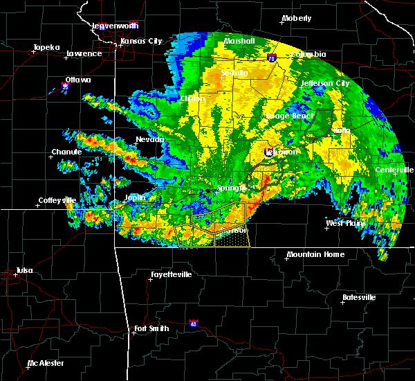 Radar Image for Severe Thunderstorms near Summit, AR at 6/4/2020 5:45 AM CDT