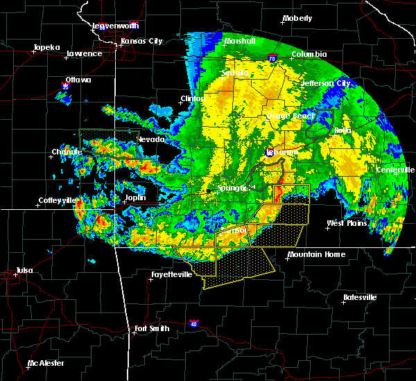 Radar Image for Severe Thunderstorms near Norwood, MO at 6/4/2020 6:02 AM CDT