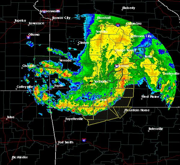 Radar Image for Severe Thunderstorms near Pontiac, MO at 6/4/2020 6:13 AM CDT