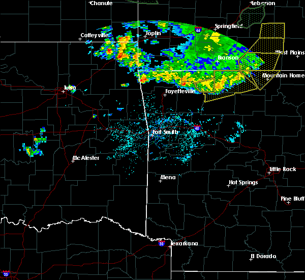 Radar Image for Severe Thunderstorms near Pindall, AR at 6/4/2020 6:31 AM CDT